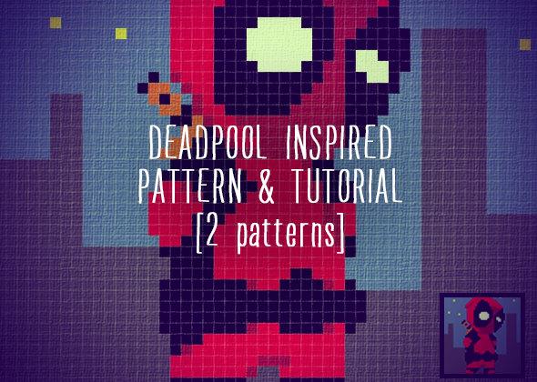 Deadpool Inspired Blanket Corner To Corner Crochet Pattern And