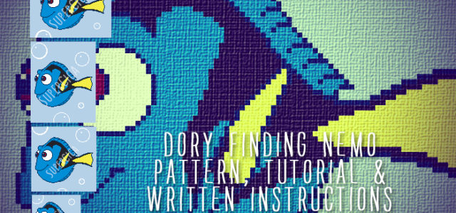 Dory crochet pattern for blanket
