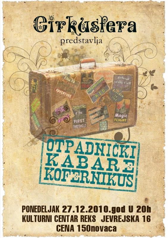 [:rs]Poster za cirkuski kabare Cirkusfere – KOFERNIKUS[:en]Poster for Cirkusfera circus cabaret – KOFERNIKUS[:]